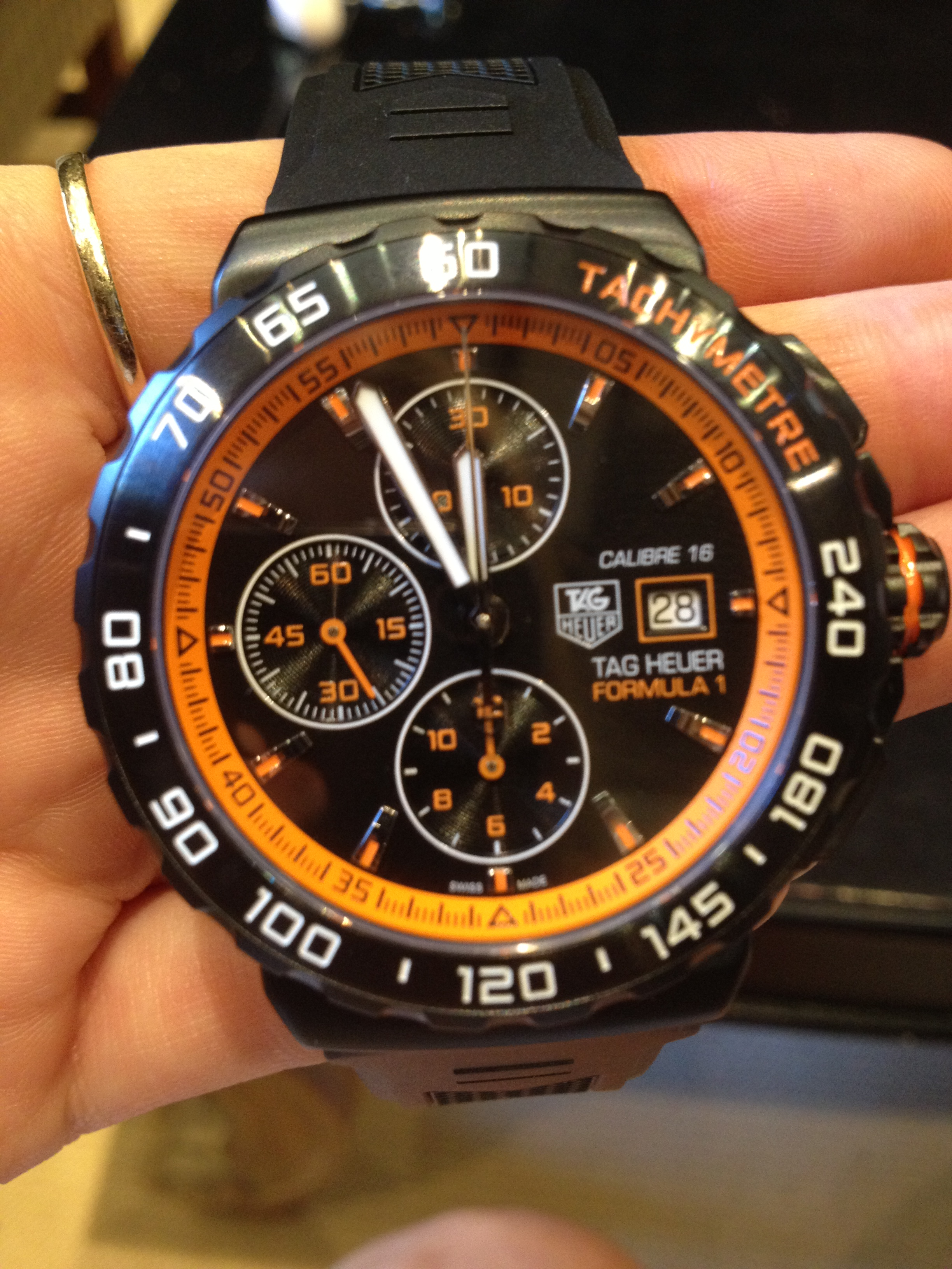 gents watch of the week tag heuer formula 1 automatic watch tag heuer formula 1 automatic watch
