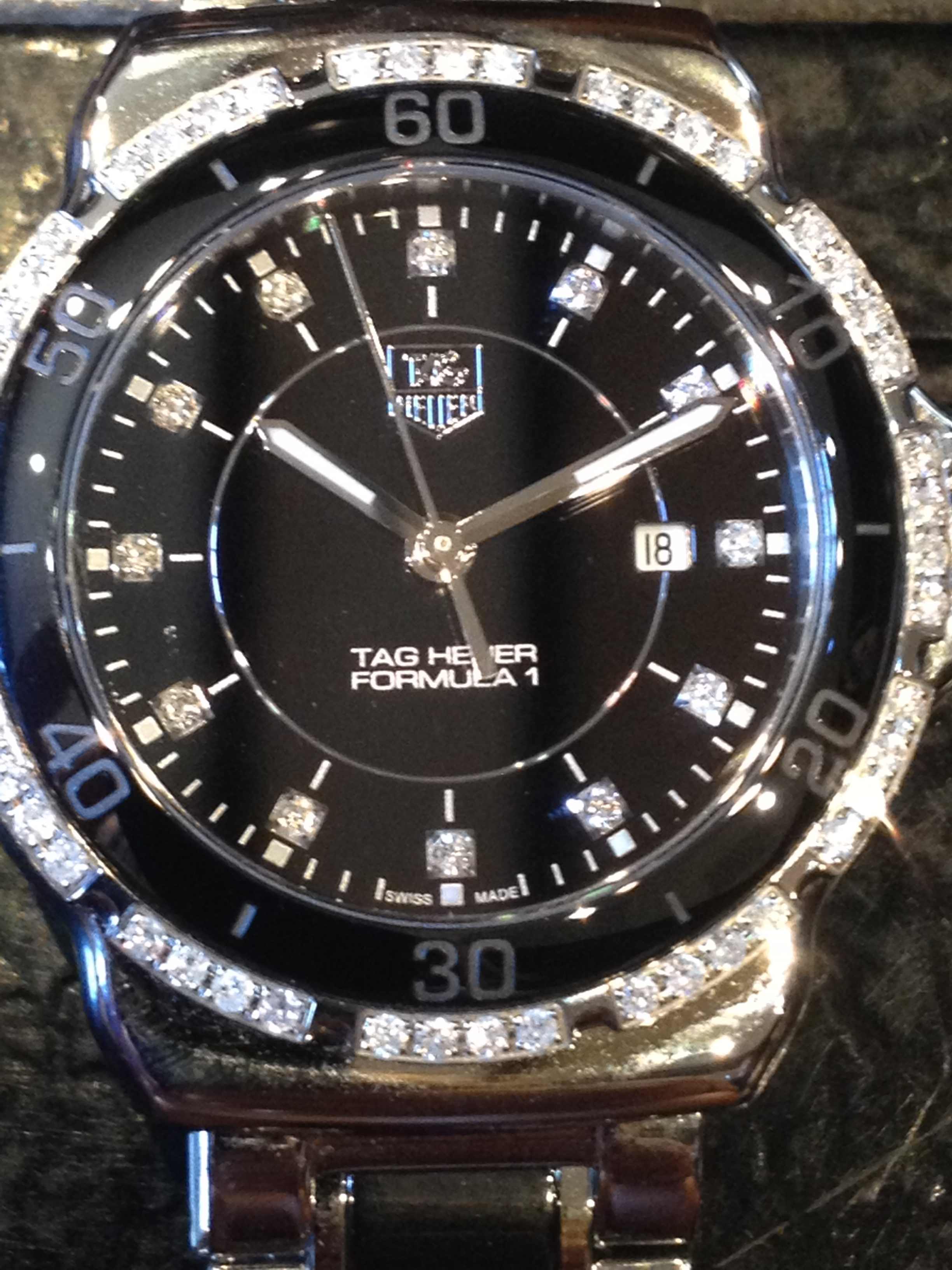ladies watch of the week tag heuer formula 1 diamond ceramic tag heuer formula 1 diamond ceramic watch