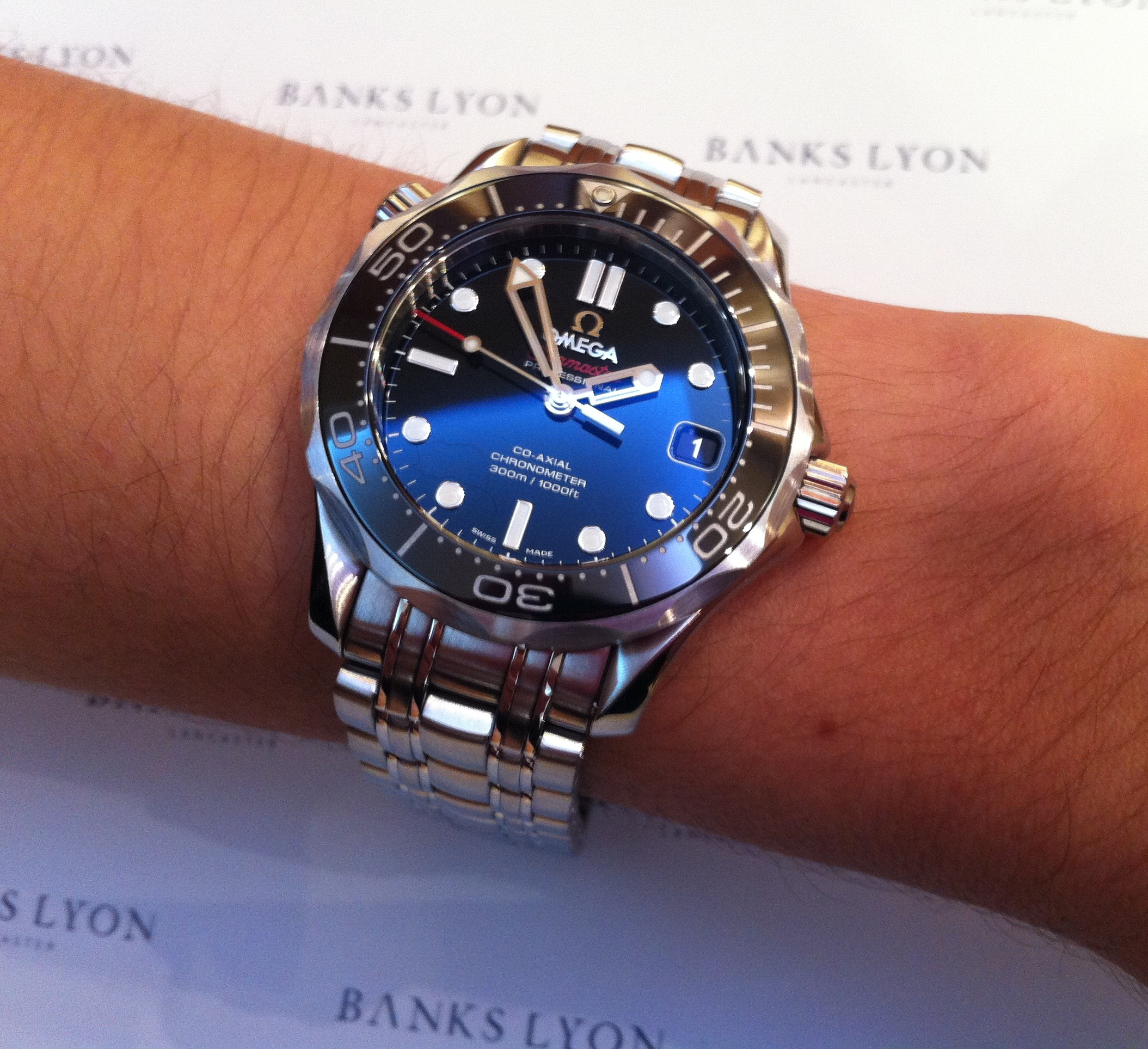 971f9c16fd4 Ladies  Watch of the Week  Omega Seamaster Diver 300M Co-Axial