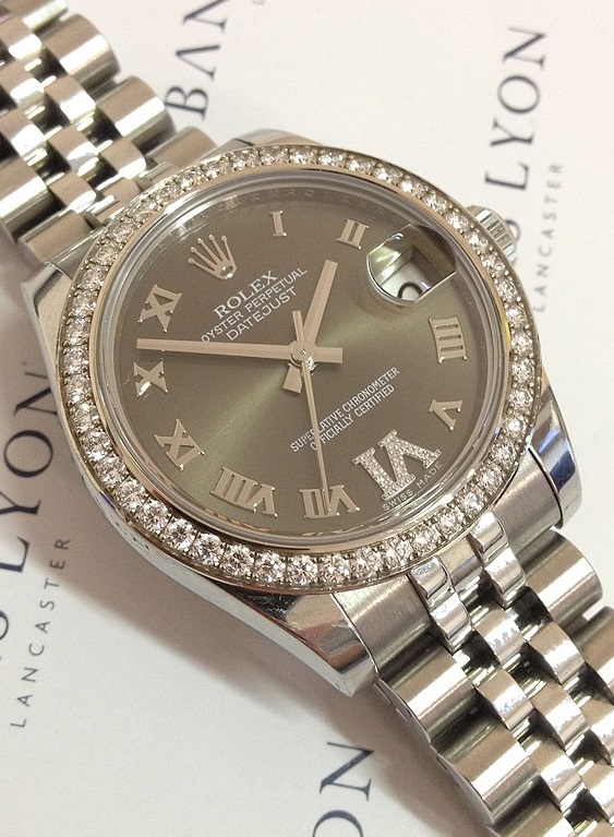 Ladies  Watch of the Week  Rolex Diamond Set Datejust 05f0777030
