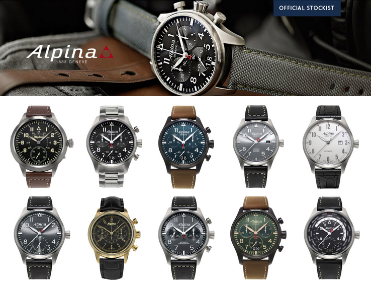 The Alpina Startimer Collection Banks Lyon Blog - Alpina startimer