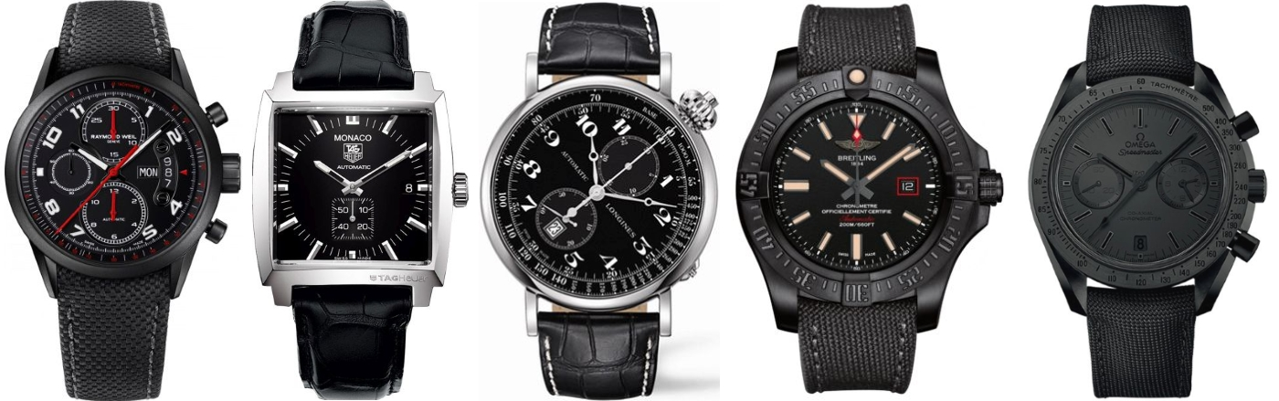 5 of the best black watches for men banks lyon blog black watches