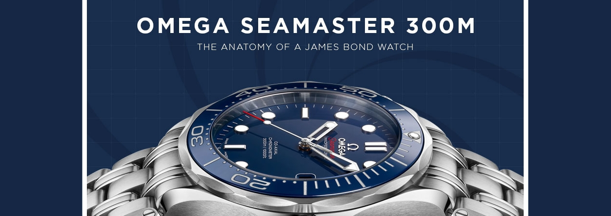 Omega Seamaster 300m The Anatomy Of A James Bond Watch Banks Lyon