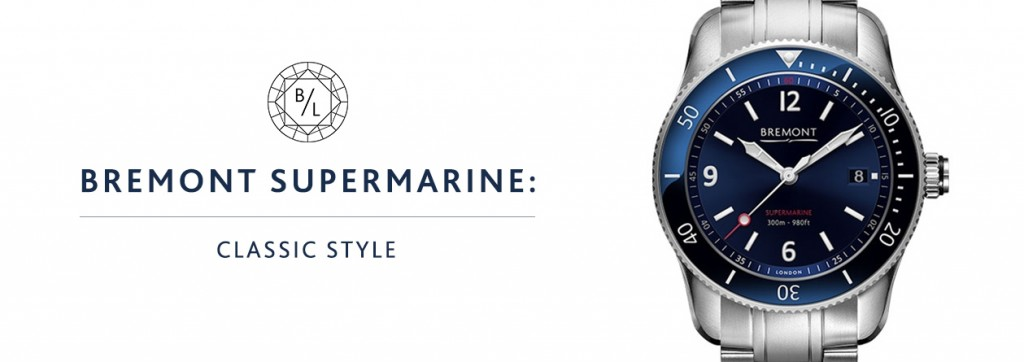 Bremont Supermarine Classic Style