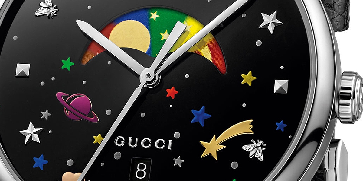 Fun and Fashion: Gucci G-Timeless Moonphase