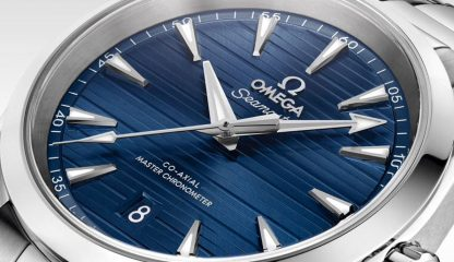 Sophisticated and Captivating: Omega Seamaster Aqua Terra for Gents