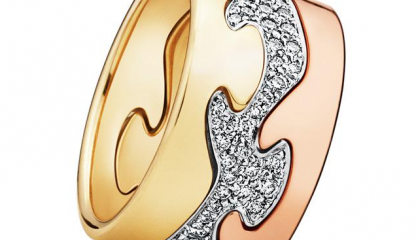 Georg Jensen Fusion Rings: Luxury and Sophistication