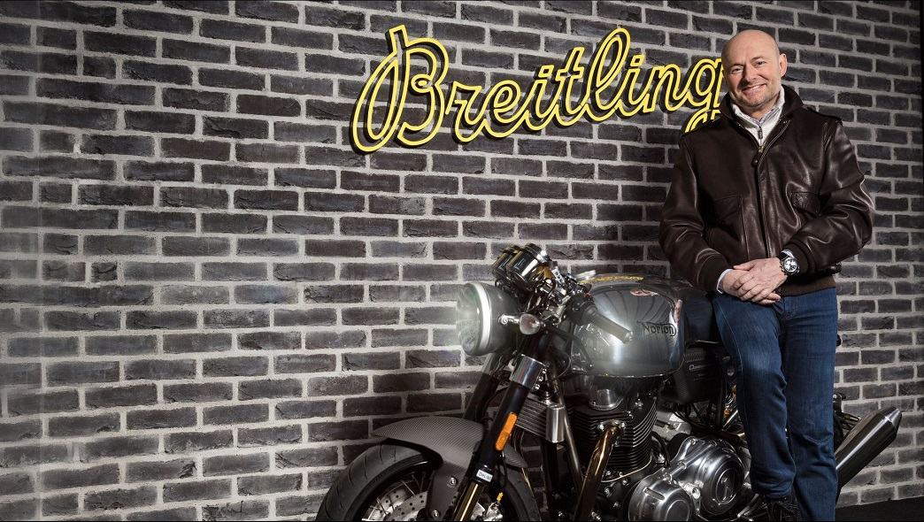 breitling and norton motorcycles partnership