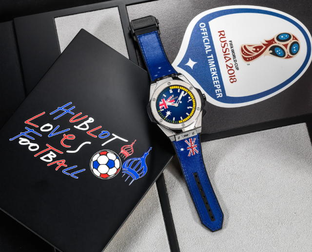 hublot and world cup 2018 - hublot loves football