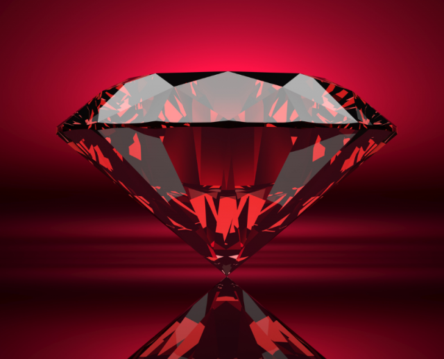 rubies - birthstone of the month for july