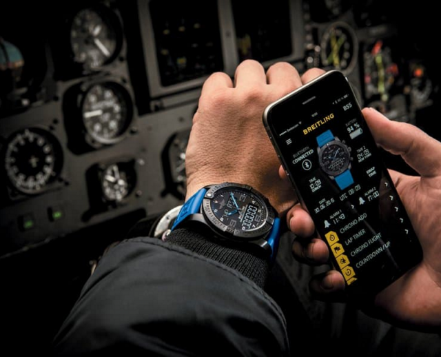 breitling and relationship with aviation