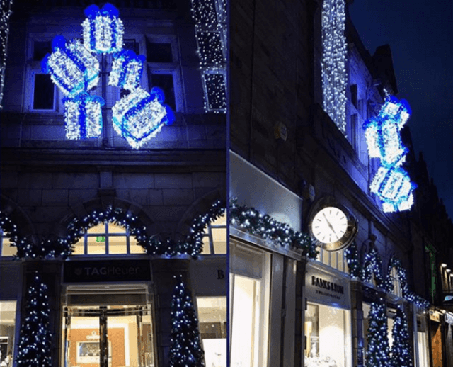 christmas lights at banks lyon