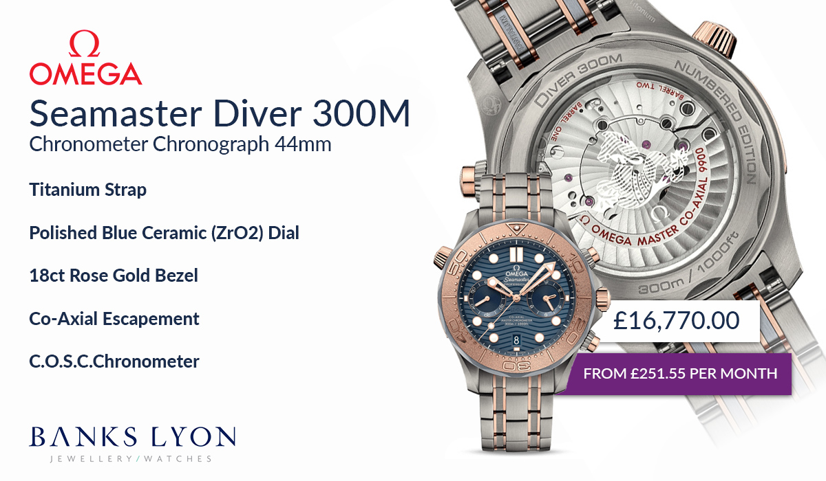 OMEGA Seamaster Diver 300M Chronograph 44mm Watch