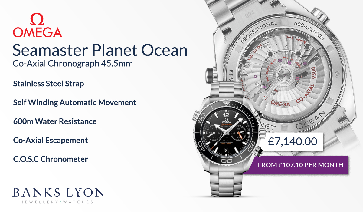 OMEGA Seamaster Planet Ocean 600m Co-Axial Chronograph 45.5mm Watch