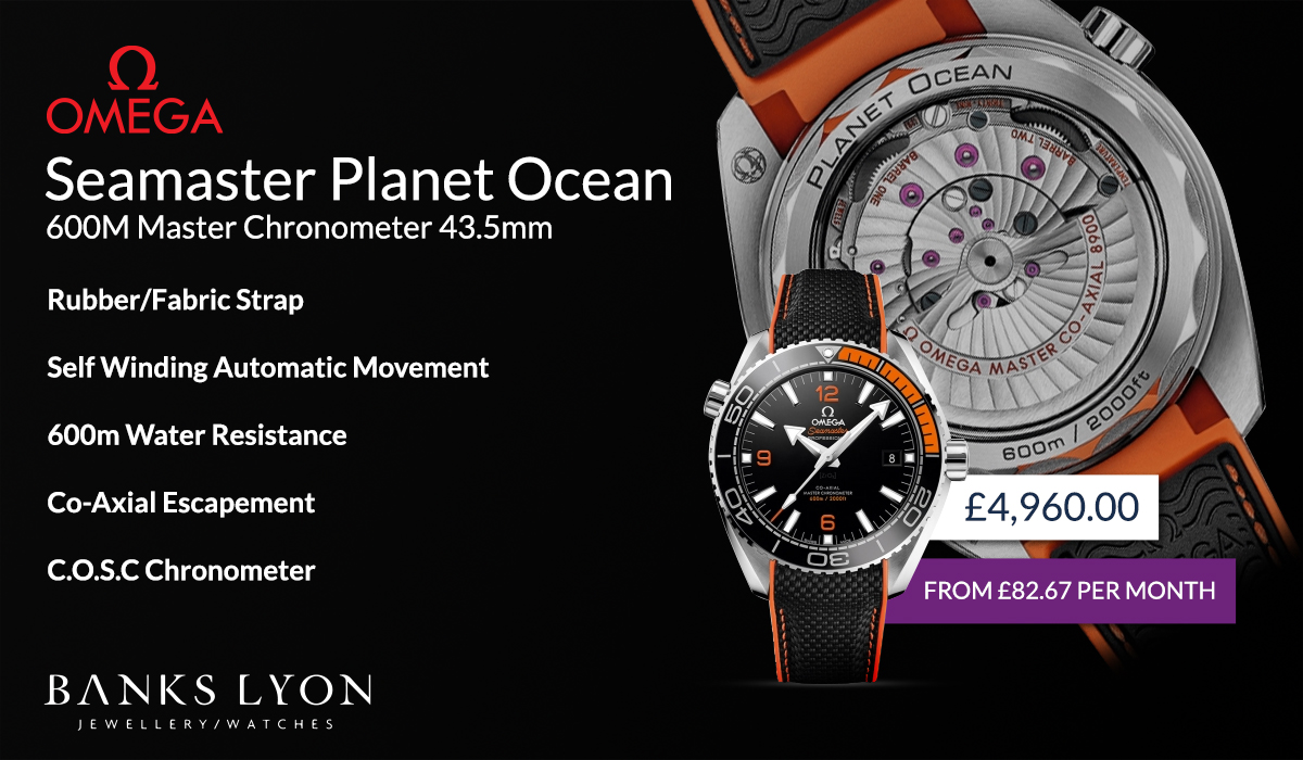 Planet Ocean 600m Master Chronometer
