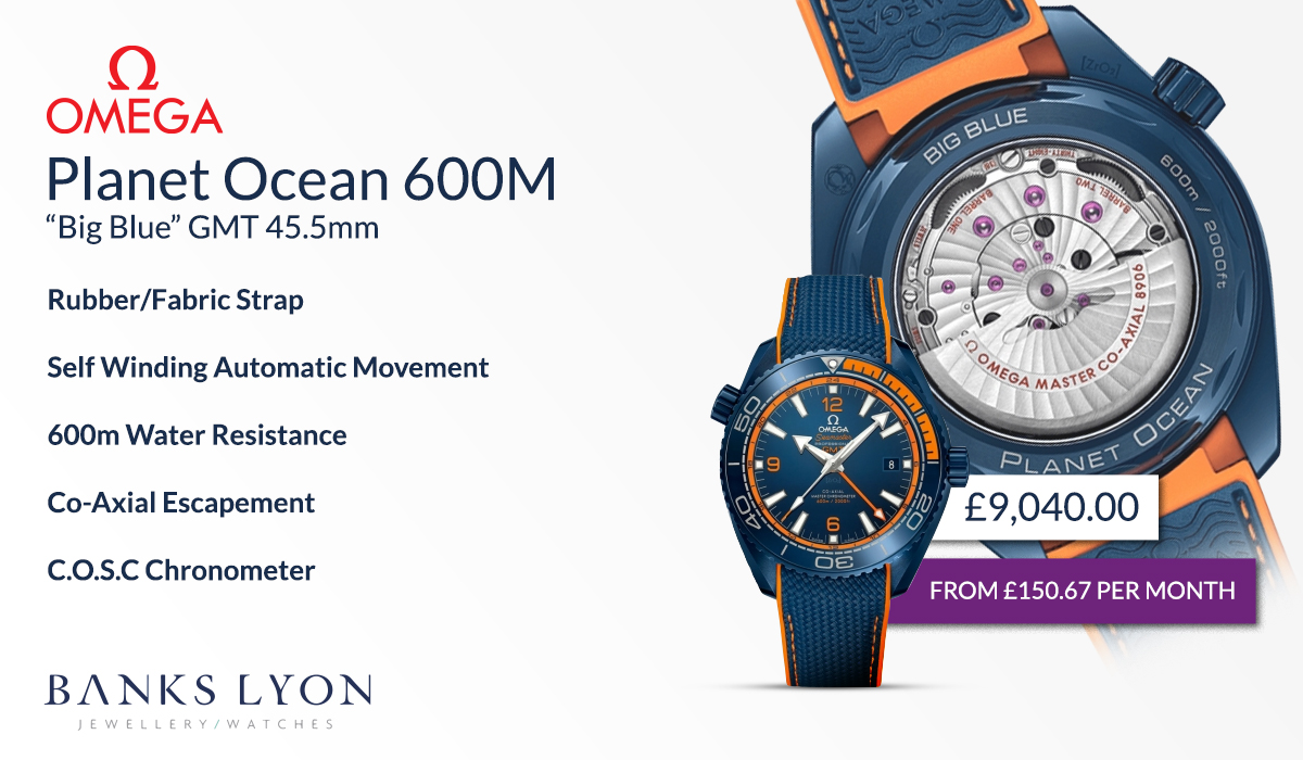 Planet Ocean Big Blue 600m GMT