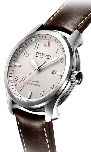 Bremont SOLO  white dial watch