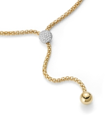 Fope Flex It Solo Necklace with diamonds