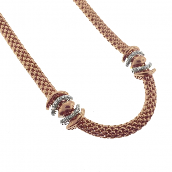 Fope Virginia Rose Gold Necklace