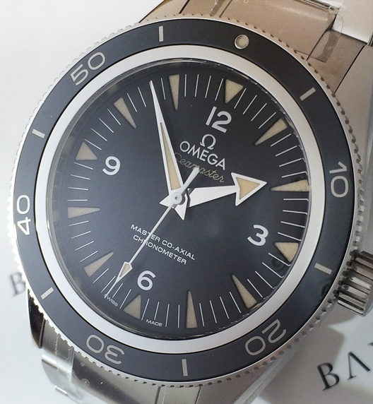 Omega Seamaster 300 Master Co-axial Watch