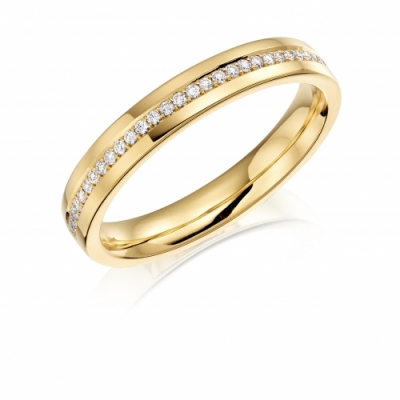 Charles Green Diamond set Wedding Ring