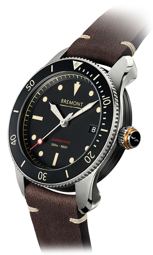 Bremont Supemarine S301 Vintage Strap Watch
