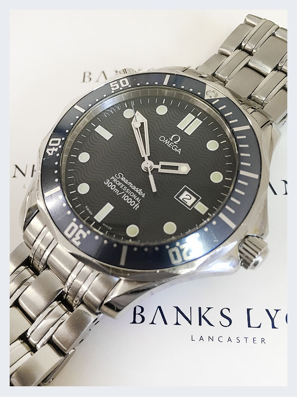 Pre Owned Omega Seamaster Quartz Watch