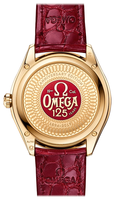 """Limited Edition Omega De Ville Tresor """"125th Anniversary"""" Co-Axial Master Chronometer 40mm Watch"""