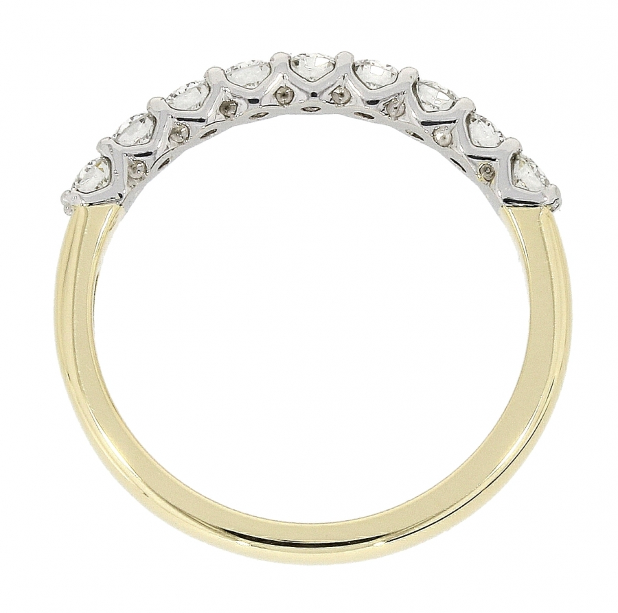 18ct Yellow Gold 0.77ct Brilliant Cut Diamond Eternity Ring