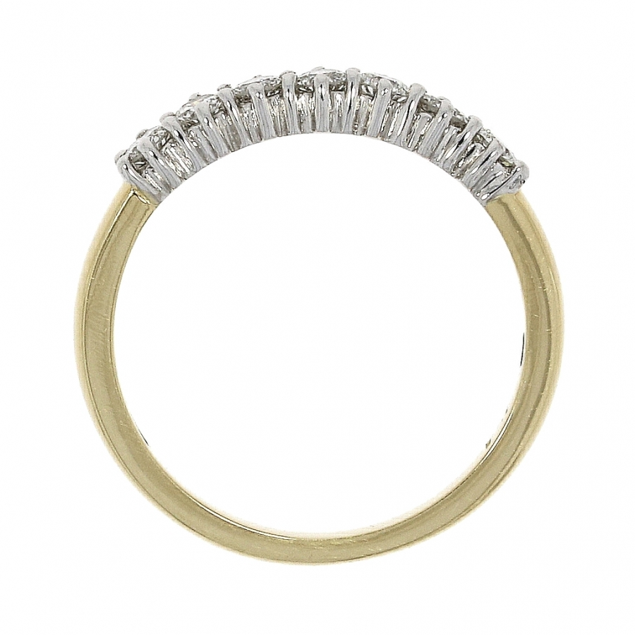 18ct Yellow Gold 0.35ct Brilliant Cut Diamond Eternity Ring
