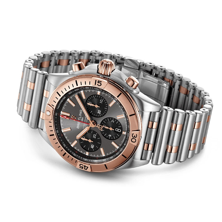Breitling Chronomat B01 42 Steel & Gold Watch