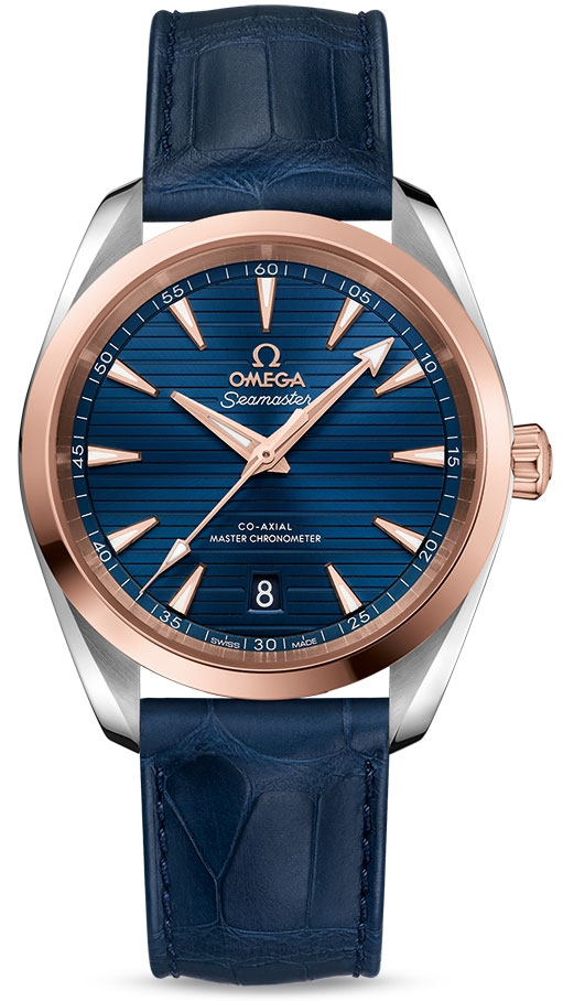 Omega Seamaster Aqua Terra 150m Co-Axial 38mm Watch - 220.23.38.20 ... cce7383c4aa