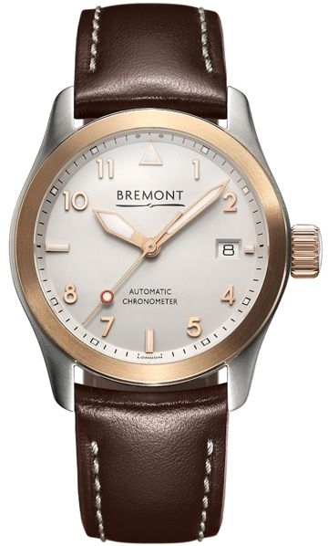 Bremont SOLO 37mm Rose gold watch