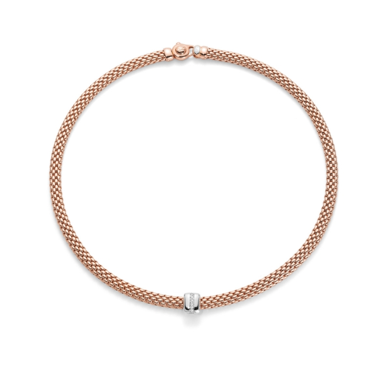 Fope Flex it Vendome Necklace Rose Gold