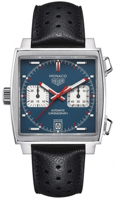 TAG Heuer Monaco Calibre 11 Automatic 39mm Watch
