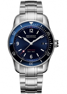 Bremont Supermarine S300 Blue Dial Bracelet Watch