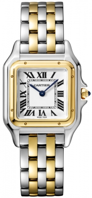 Cartier Panthere Yellow Gold & Steel Medium Watch