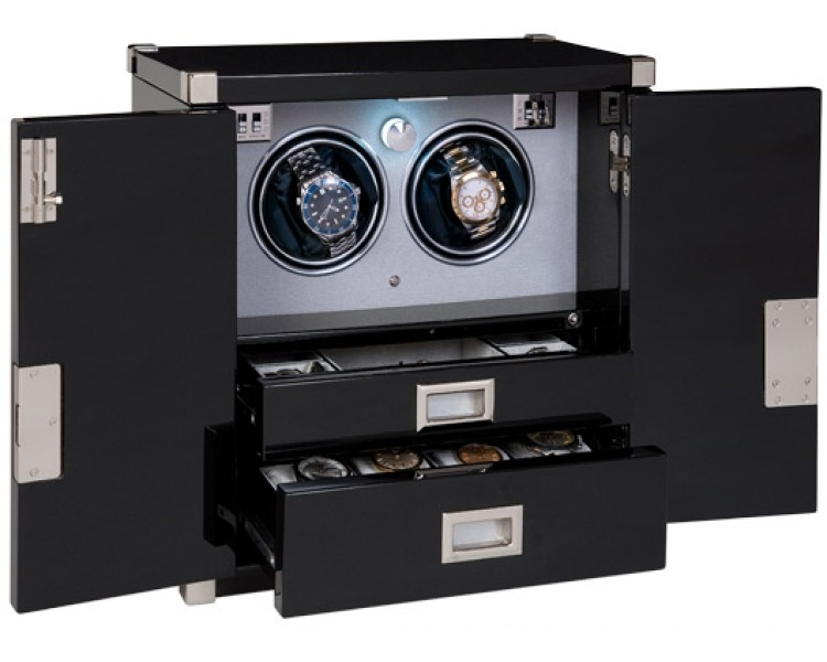 Rapport Marnier's Duo Watch Winder Chest