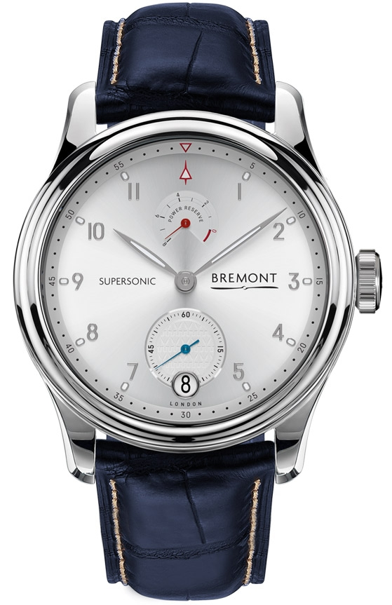 Limited Edition Bremont Supersonic 18ct White Gold Watch