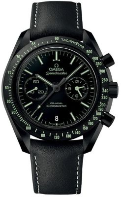 """OMEGA Darkside of the moon """"Pitch Black"""" Watch"""