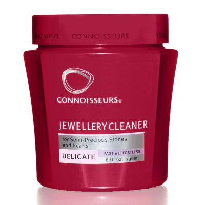 Connoisseurs Delicate Jewellery Cleaner  -Semi Precious Stones, Pearls & Costume Jewellery