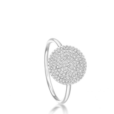 Astley Clarke 14ct White Gold Icon Ring