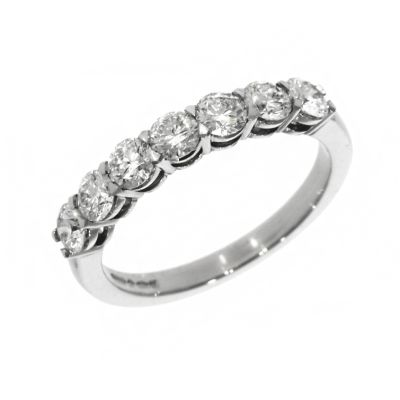 Platinum 1.05ct Brilliant Cut Diamond Eternity Ring