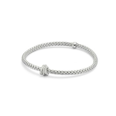 Fope Prima Flex It Pave Bracelet