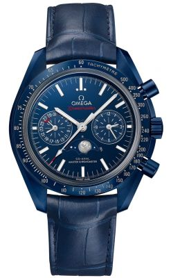 """OMEGA Speedmaster Moonphase """"Blue Side of the Moon"""" Ceramic Watch"""