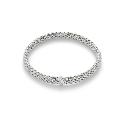 Fope Flex'It Vendome White Bracelet