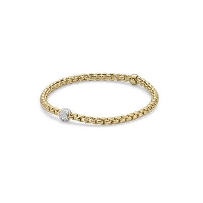 Fope Flex'It Eka Pave Bracelet
