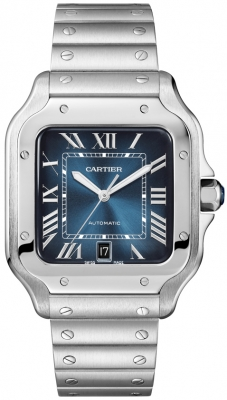 Cartier Santos Automatic Stainless Steel 40mm Watch