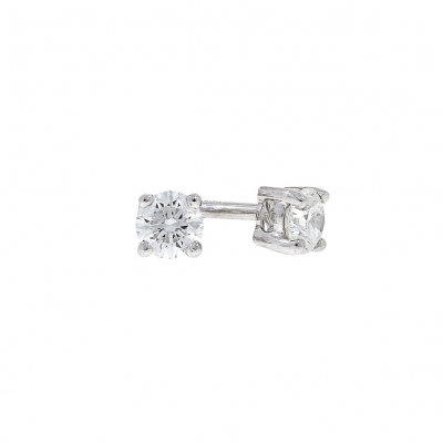 18ct White Gold 0.40ct Brilliant Cut Diamond Stud Earrings