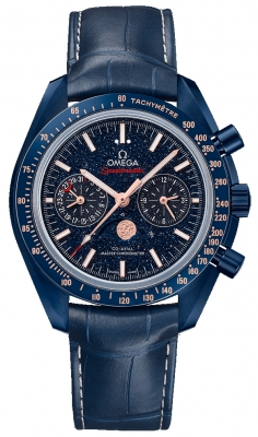 """OMEGA Speedmaster """"Blue Side of the Moon"""" Moonphase Watch"""